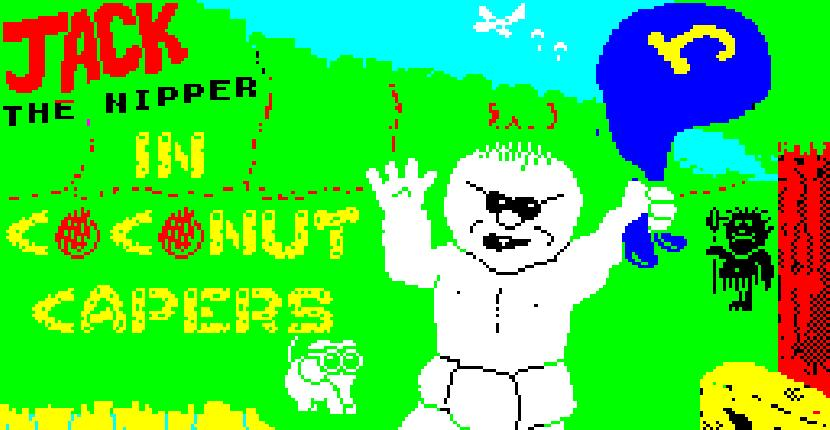 Jack the Nipper 2: In Coconut Capers - ZX Spectrum de Gremlin Graphics Software (1987)