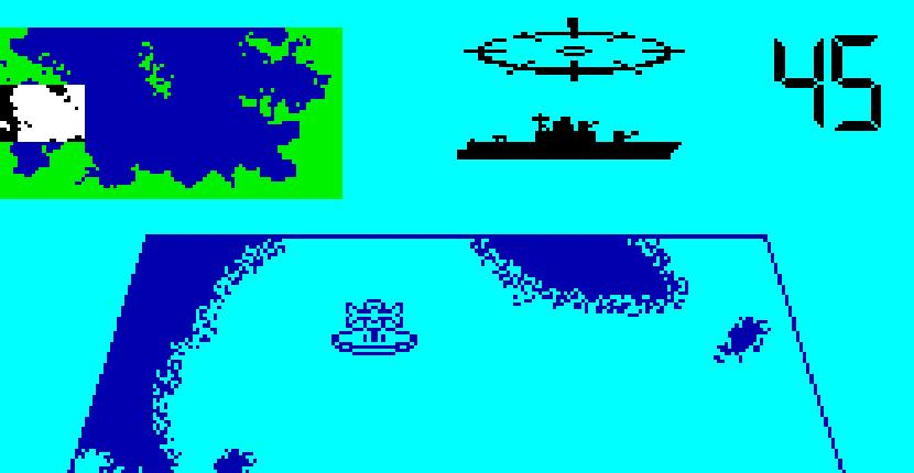 Convoy Raider - ZX Spectrum de Gremlin Graphics Software (1987)