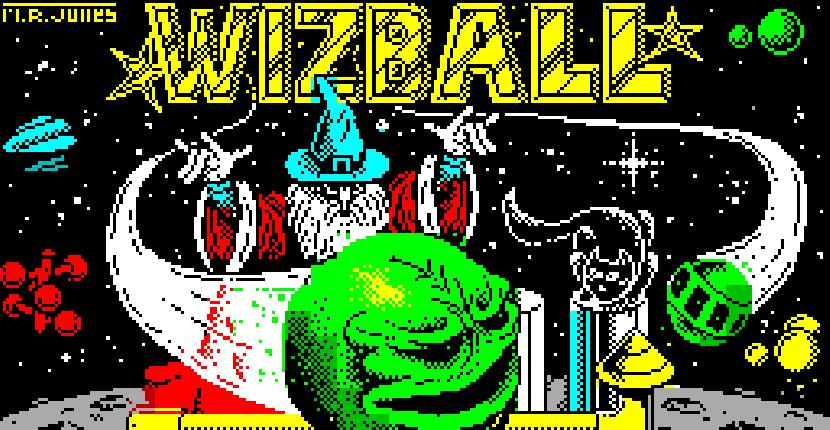 Wizball - ZX Spectrum de Ocean Software (1987)