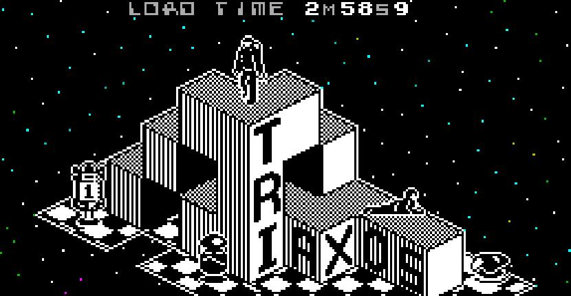 Triaxos - ZX Spectrum de 39 Steps (1987)