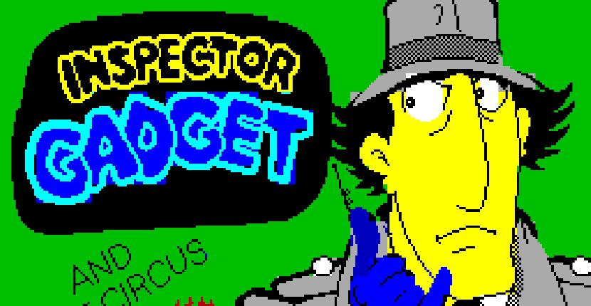 Inspector Gadget and the Circus of Fear - ZX Spectrum de Melbourne House (1987)