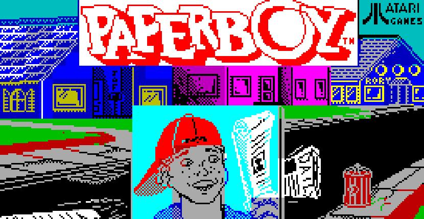 Paperboy - ZX Spectrum de Elite Systems (1986)