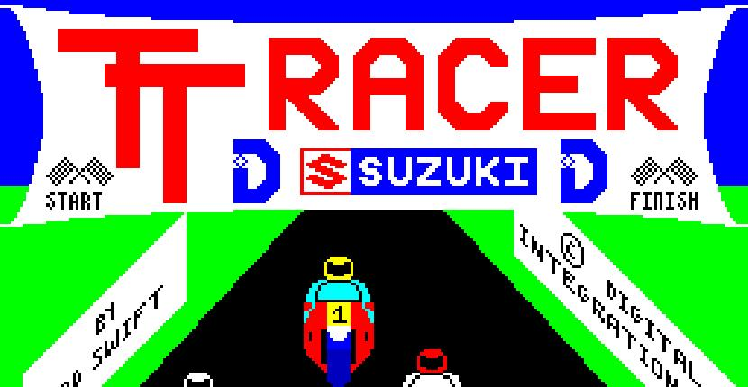 TT Racer - ZX Spectrum de Digital Integration (1986)