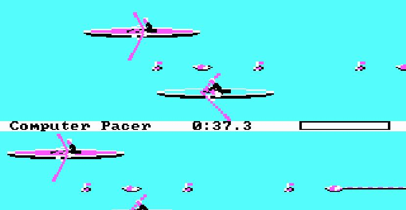 Summer Games II - PC MS-DOS de Epyx (1986)