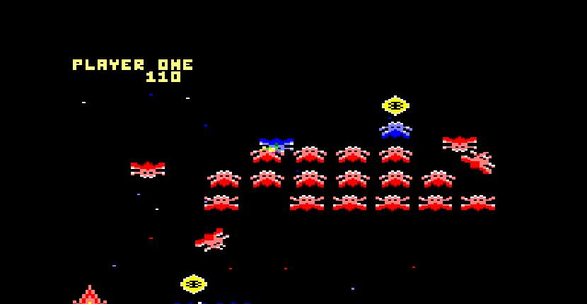 Classic Axiens - Amstrad CPC de Bubble Bus Software (1987)