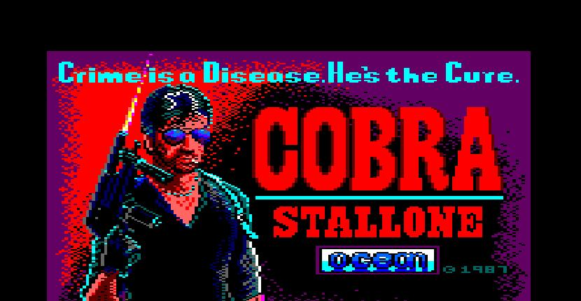 Cobra - Amstrad CPC de Ocean Software (1987)