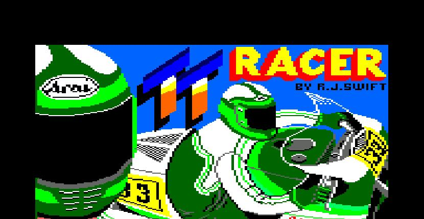 TT Racer - Amstrad CPC de Digital Integration (1986)