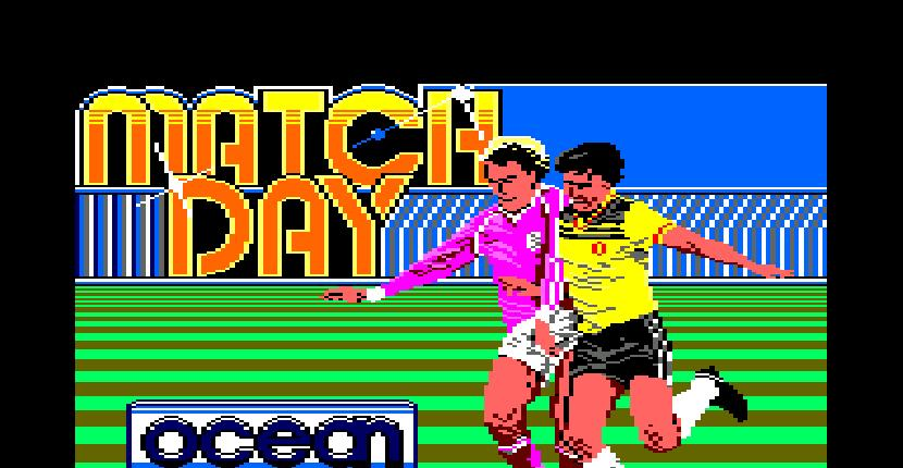 Match Day - Amstrad CPC de Ocean (1985)