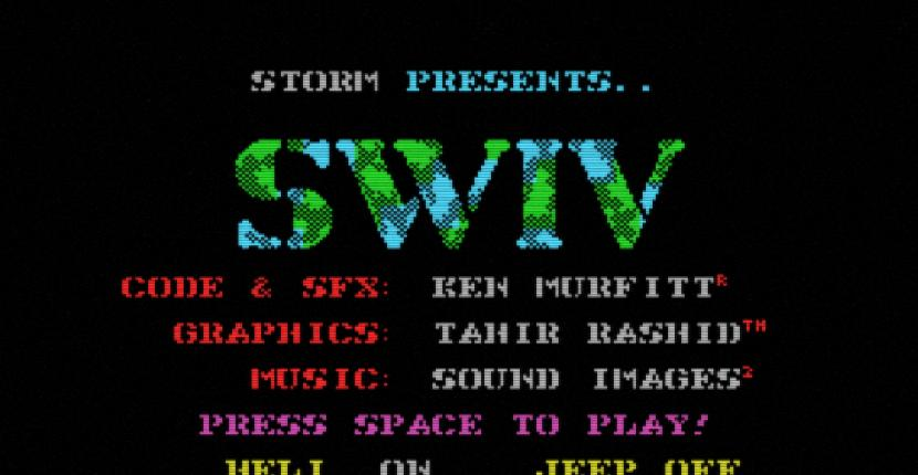 SWIV - MSX de Storm Software (1991)