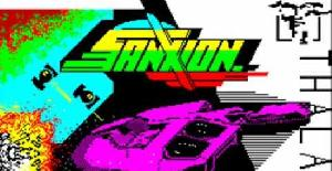 Sanxion - Adaptación del Commodore al Amstrad CPC (1989)