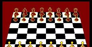 3D Voice Chess - Amstrad CPC de Deep Thought Software (1985)