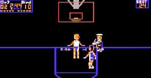 One-on-One | Commodore 64 | Juego : Baloncesto | Ariolasoft