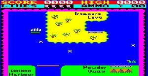 Roland Ahoy el Pirata | Juego : Amstrad | Computersmith & Indescomp