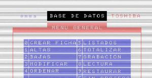 Base de datos | MSX : BBDD | DIMension NEW | Valoración (1985)