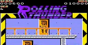 Rolling Thunder. Juego (Amstrad CPC, Spectrum) (U.S. Gold)