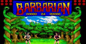 Barbarian. Juego (Atari ST) (Palace Software) (ERBE Software)