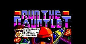 Run the Gauntlet | Juego : Amstrad CPC | Creative Action & Ocean Soft