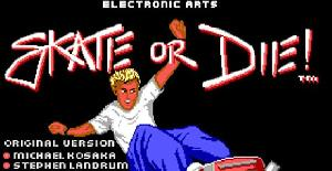 Skate or die | Juego : PC MS-DOS | ELECTRONIC ARTS & DRO SOFT