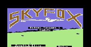 Skyfox | Juego : Commodore 64 | Electronic Arts & Ariola Soft (1985)