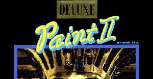 Deluxe Paint II | PC MS-DOS | Electronic Arts & Dro Soft (1989)