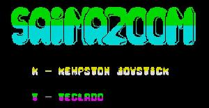 Saimazoon | Juego : Spectrum 48K | Dinamic & Micro World (1984)