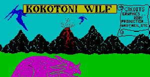 Kokotoni Wilf | Juego : Spectrum 48K | Andy Williams | Elite Systems