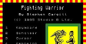 Fighting Warrior - ZX Spectrum de Melbourne House (1985)