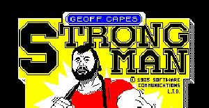 Geoff Capes Strong Man (Spectrum 48K) (Ian McArdle, John K. Wilson, Dave Dew) (Martech Games)