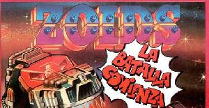 Zoids: The Battle Begins | Publicidad : Spectrum 48K