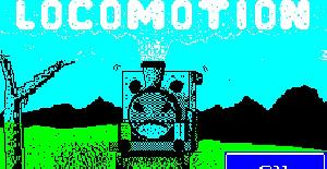 Locomotion | Juego : Spectrum 48K | M.J. Child | Mastertronic · 1985