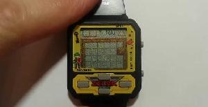 Reloj con el juego The Legend of Zelda | Nintendo Game & Watch · 1992