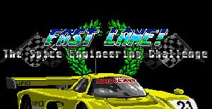 Fast Lane! The Spice Engineering Challenge | Juego: Amiga 500 · 1990
