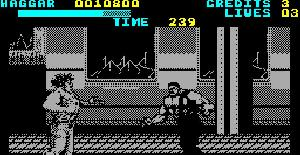Final Fight - ZX Spectrum de Creative Materials (1991)
