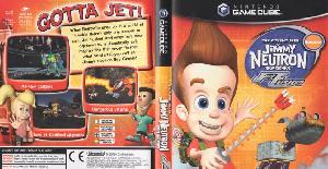 The Adventures of Jimmy Neutron Boy Genius: Jet Fusion - (PS2, Gamecube)