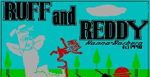 Ruff and Reddy in the Space Adventure - ZX Spectrum (1990)