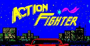 Action Fighter - ZX spectrum de Firebird Software (1989)