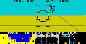 F-15 Strike Eagle - ZX Spectrum de MicroProse Software (1987)