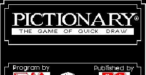 Pictionary - ZX Spectrum de Domark (1989)