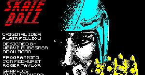 Skateball - ZX Spectrum de Ubi Soft (1988)