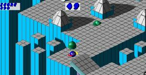 Marble Madness - Turbografx 16 (PC Engine) de Tengen (1992)