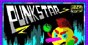 Punk Star - ZX Spectrum de Iber Software (1988)