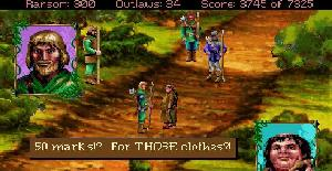 Conquests of the Longbow: The Legend of Robin Hood - PC MS-DOS de Sierra Online (1991)