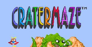 Cratermaze - Turbografx 16 (PC Engine) de Hudson Soft (1990)