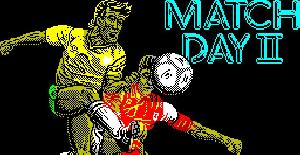 Match Day II - ZX Spectrum de Ocean (1987)
