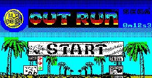 Out Run - ZX Spectrum de US Gold (1987)