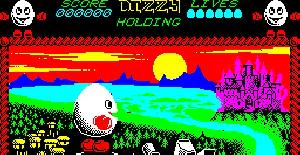 Dizzy - The Ultimate Cartoon Adventure - ZX Spectrum de Code Masters (1987)