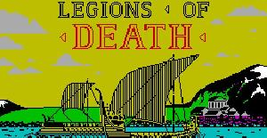 Legions of Death - ZX Spectrum de MC Lothlorien (1987)
