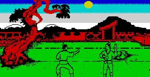 Samurai Trilogy - ZX Spectrum de Gremlin Graphics Software (1987)