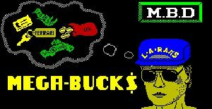 Mega Bucks - ZX Spectrum de Firebird Software (1986)