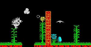 Spiky Harold - ZX Spectrum de Firebird Software (1986)